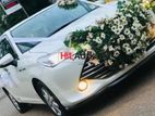 Wedding Car Toyota Axio