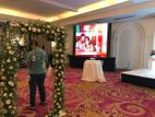 LED Video screen for Weddings