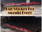 Cut Sticker for Suzuki Every