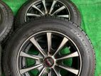 Alloywheels with Tyres 13 inch 145-13