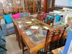 Teak Dinning Table with 6 Chairs