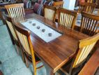 Dinning Table with Chairs--6ftx3ft--DTC1904