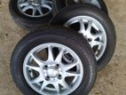 """13"""" Alloys with Tyres"""