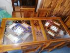 Teak dining table with 6 chairs - TTWC1514