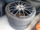 215/35/18 Tyre With Alloy