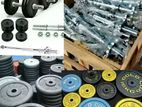 Weight Plates and Dumbbell Bar Brand New RD0