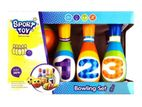 Kids Bowling Set (6 Pins And 2 Balls)