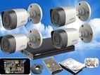 Dahua 2MP Full HD 1,080P Cctv 4Ch Cameras System
