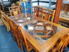 Table & Chairs---6x3---Teak---TCT0011