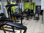 Gym Machines and Weight Plates