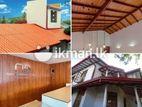 Ceiling, Roofing, Flooring, Gutter works