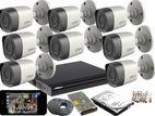 Dahua Full HD 2MP 8 Cameras CCTV Package