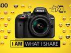 DSLR D3400 camera for Rent