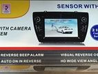 Car Reverse Camera with Parking Sensor Alarm
