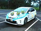 Prius wedding car for rent
