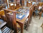 Dinning Table & Chairs--6ftx3ft--DTN1213