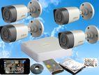 Dahua 2MP Full HD 1,080P CCTV 4 Cameras System