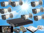 Dahua 2MP Full HD 1,080P CCTV 8 Cameras System