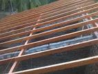 Finishing Roof Construction නිමාව වහල