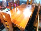 Dinning Table and Chairs--6x3--DTN1706
