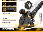 DEKO DKMS85Q1 Mini Electric Circular Saw with Laser, 4 Blades