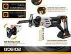 DEKO DKRS20Q2A 20V Cordless Reciprocating Saw Adjustable Speed with 4