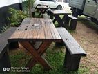 Tables Set Rustic Railway Timber