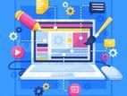 E-commerce Design and Development | වෙබ් අඩවි නිර්මාණය