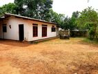 27 P Land with Single Story House for Sale in Meegoda