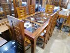 Dinning Table & Chairs--6ftx3ft--DTN1521