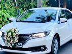 Wedding Car for Hire Toyota Premio