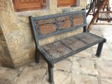 Out Door Railway Timber Benches