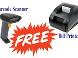 POS Billing System with Barcode, Printer