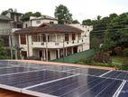 3Kw Solar Panel On-Grid System-(Unit 300-360 kwh) DE00013