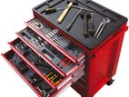 TORIN Big Red Tool cabinet WITH TOOLS 7 drawers chests steel roller box