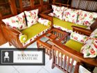 Depo Teak Wood Sofa New