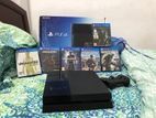 Play Station 4 Bundle with 6 Games