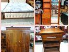 Teak Luxury Queen size bedroom set - tlqb407
