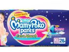 MamyPoko Pants XL 12-15 Kg 26 Pcs