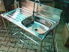 Fully Stainless Steel Kitchen / Hand Wash Sink