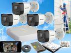 Hikvision Turbo HD 2MP Recording 1080P 25M 4Cam CCTV System