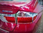 Honda Grace Tail Light covers Chrome