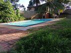 House with S/Pool for Sale in 32 P Nalluruwa-Panadura