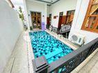 (LD 107) Sewiming Pool With Luxury 03 Story House Sale At Thalwathugoda