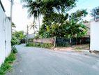 (LD140) 09 P Bare Land Sale At De Mel Watha Road Koswatha Nawala