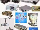 projector parts , bulbs repair