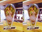 sublimation print crystal ceramic gift item mug rock 9030