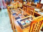 Teak Dining Table with 6 Chairs