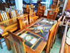 Teak Dining Table with 6 Chairs - tdt00022