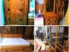 Teak Queen Size Bedroom Set Package